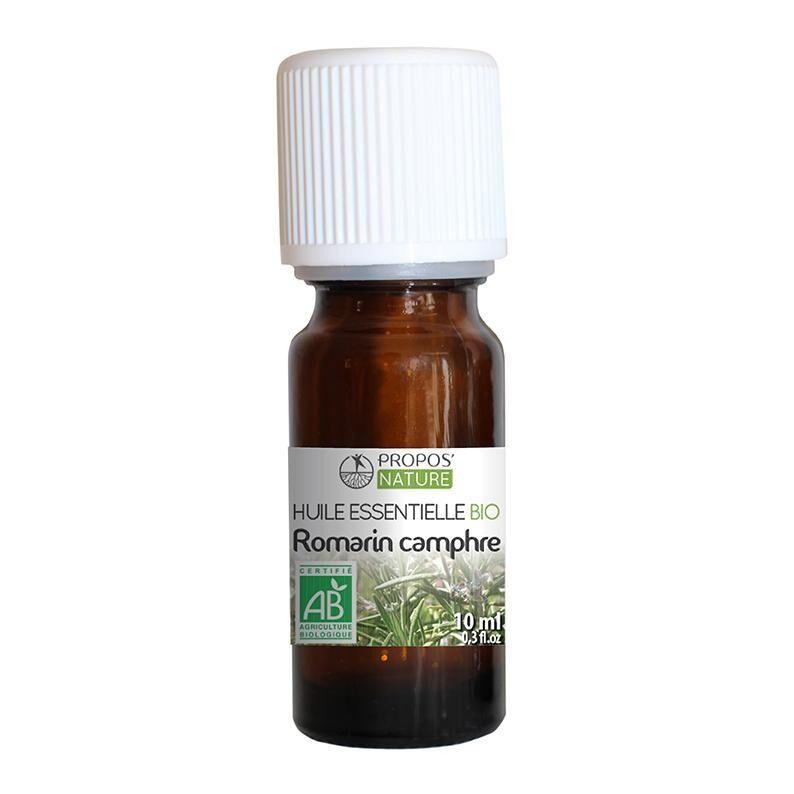 Propos'nature Romarin à Camphre BIO - Huile essentielle 10 ml