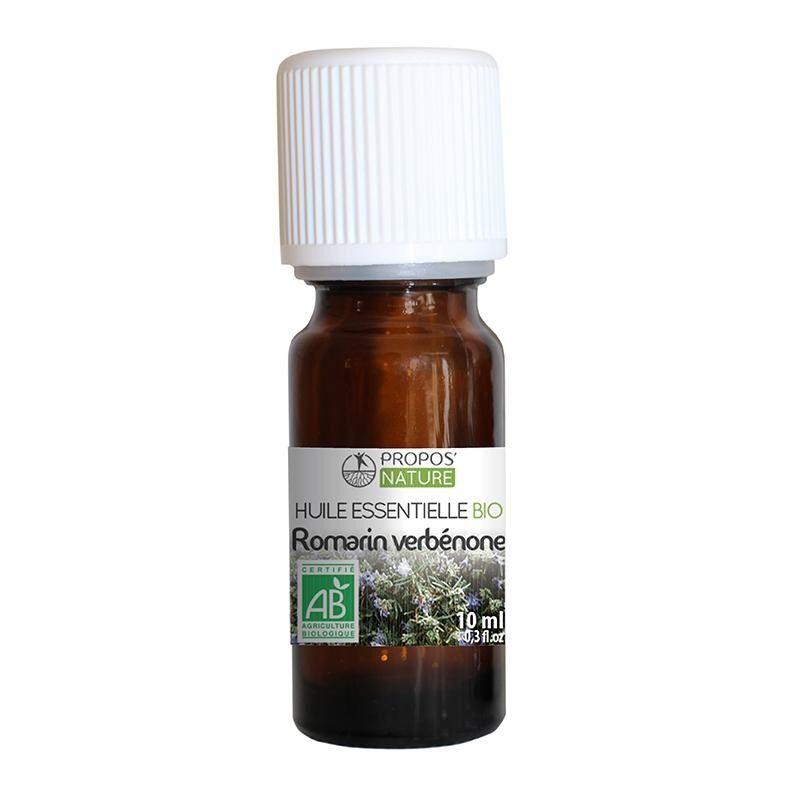 Propos'nature Romarin à verbénone BIO - Huile essentielle 10 ml