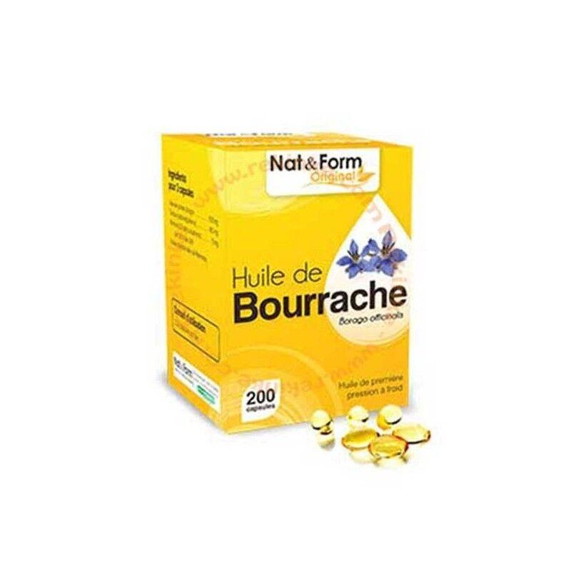 Vitaforce Huile de Bourrache - 200 capsules