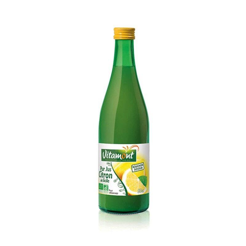 VITAMONT Jus de Citron Bio 0.5L-Vitamont