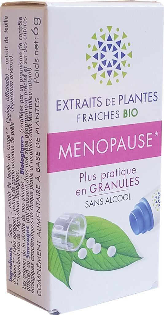 Kosmeo MENOPAUSE complexe de Teinture Mère d'EPF  granules  sans Alcool