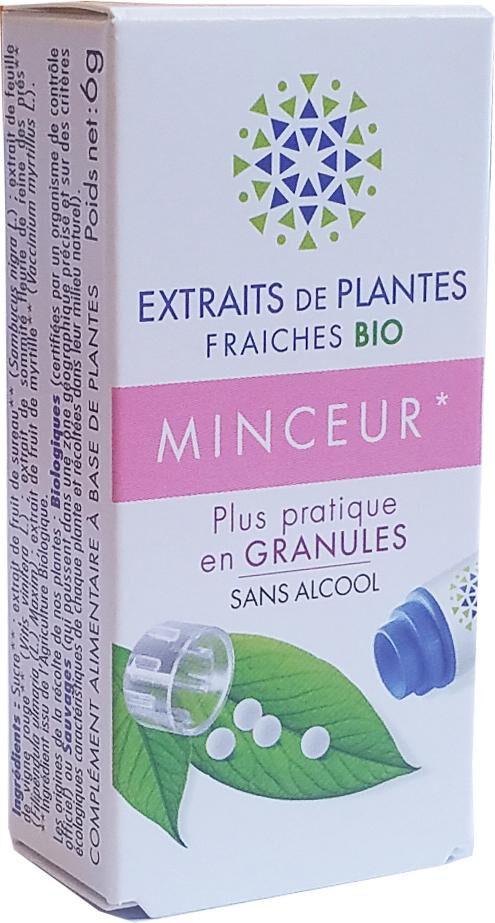 Kosmeo MINCEUR complexe de Teinture Mère d'EPF  granules  sans Alcool...