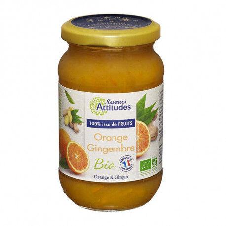 SAVEURS ATTITUDES PREPARATION FRUITS Orange Gingembre Bio