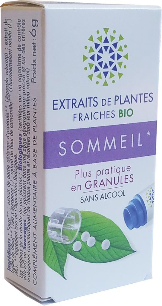 BIO FORMULE SOMMEIL complexe de Teinture Mère d'EPF  granules  sans Alcool...