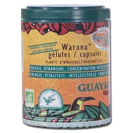 GUAYAPI Warana-Guarana Bio - 100 Gélules - Guayapi