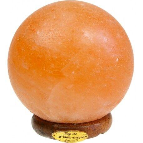 Relais Bio Lampe en Cristal de Sel (Ronde)  - 4 kg