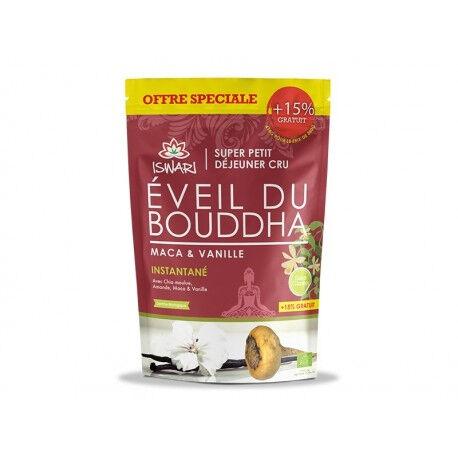 ECOCERT L'Eveil du Bouddha Maca & Vanille - 360g +15% Gratuit - Iswari