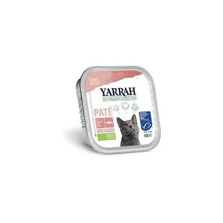 Relais Bio Pâté Saumon Bio - 100gr - Yarrah