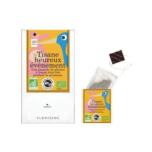 AROMANDISE - Tisane bio Heureux Evénement pour la grossesse 20...