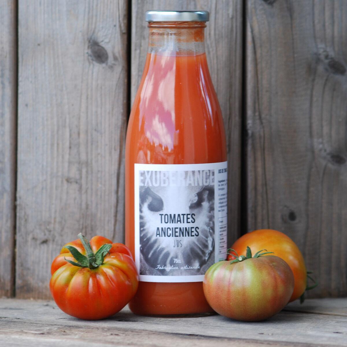 La Boite à Herbes Jus De Tomate Ancienne Bio - 75cl