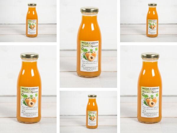La Ferme de l'Ayguemarse Nectar d'abricot Polonais x6