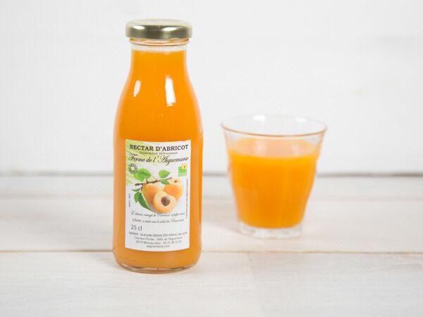 La Ferme de l'Ayguemarse Nectar d'abricot Polonais 25 cl
