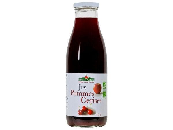 Les Côteaux Nantais Jus Pommes Cassis 75 Cl
