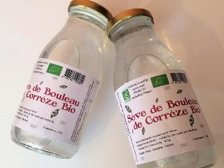 La Ferme des petits fruits Sève De Bouleau Bio Pasteurisée : Cure