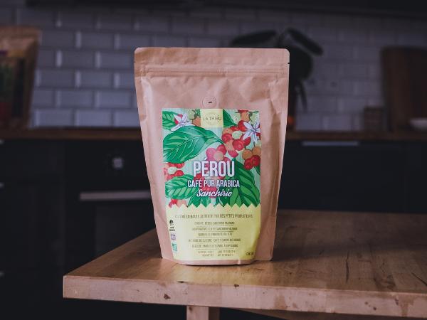 LA TRIBU Café Sanchirio Pérou Moulu 500g Équitable & Bio