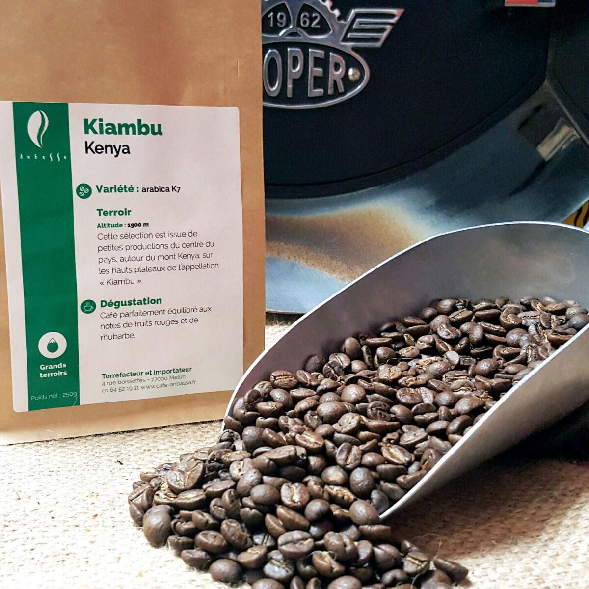 Brûlerie de Melun-Maison Anbassa Café Kiambu-kenya - En Grains