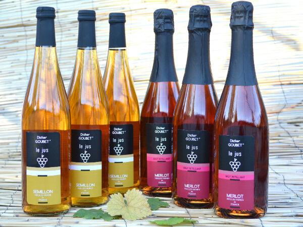 Didier Goubet Lot de 6 bouteilles de 75cl
