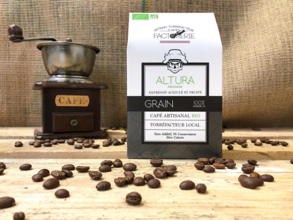 Cafés Factorerie Café Mexique Altura Bio GRAIN - 250g