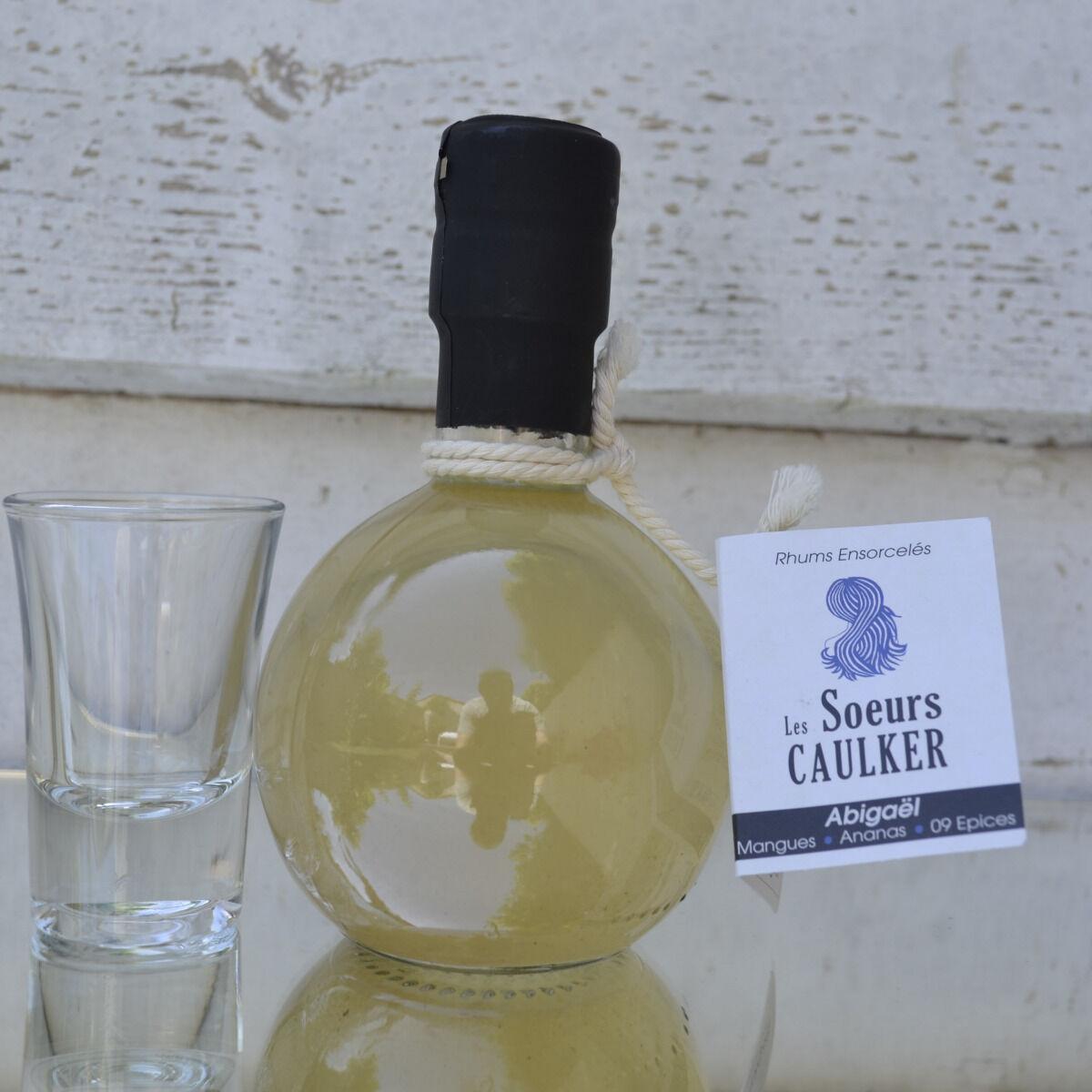 Les Soeurs Caulker - Rhums ensorcelés Abigaël (mangues, Ananas, 09 épices)