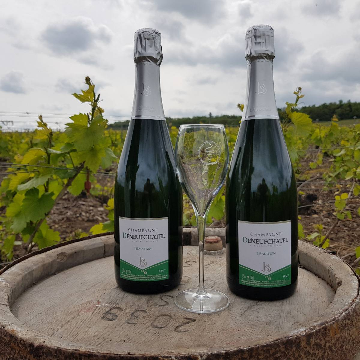 Champagne Deneufchatel Brut Tradition 2 X 75 Cl