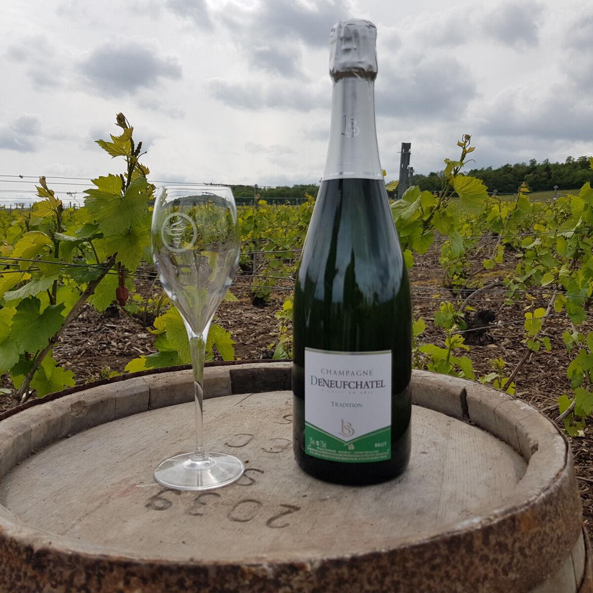 Champagne Deneufchatel Brut Tradition 1 X 75 Cl