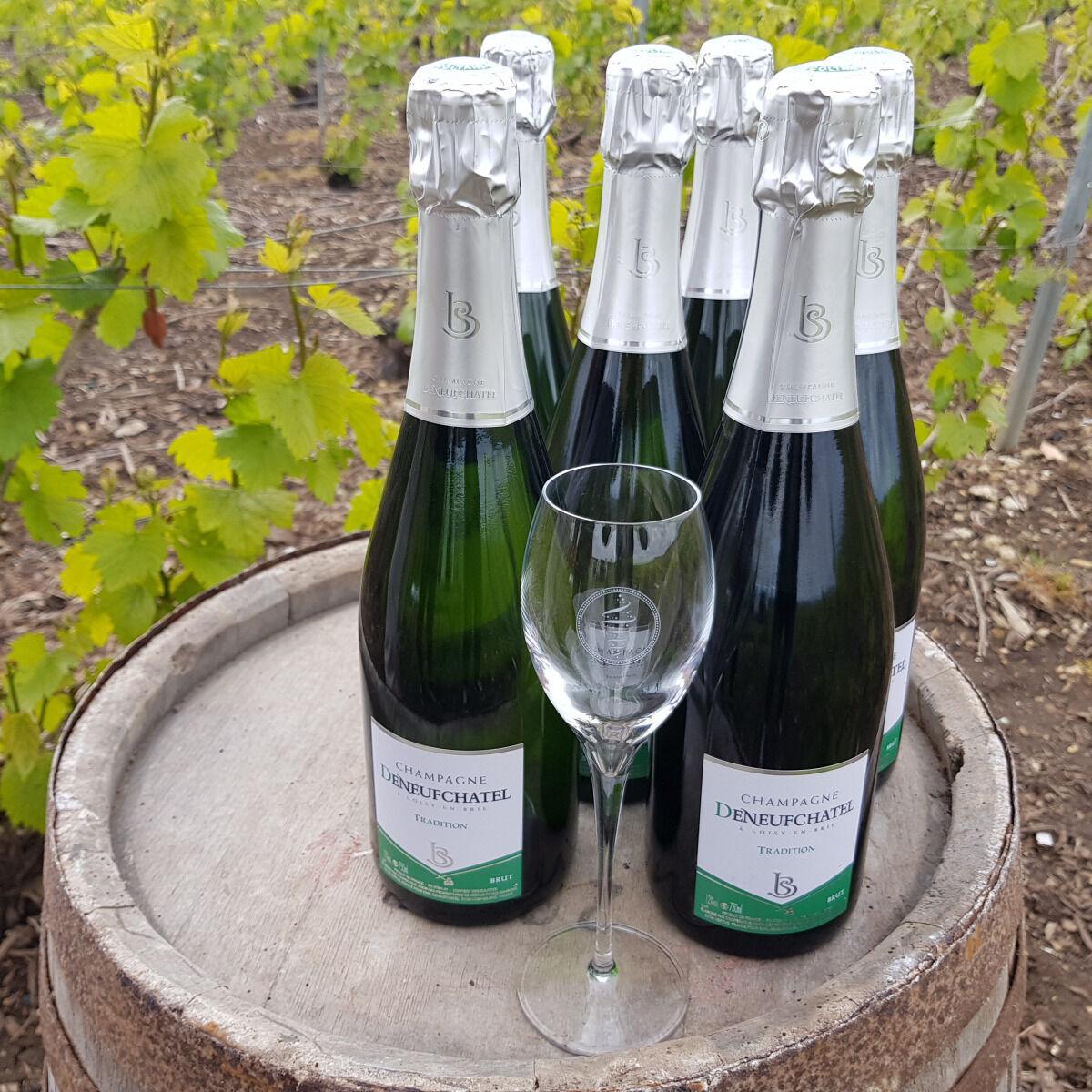 Champagne Deneufchatel Brut Tradition 6 X 75 Cl