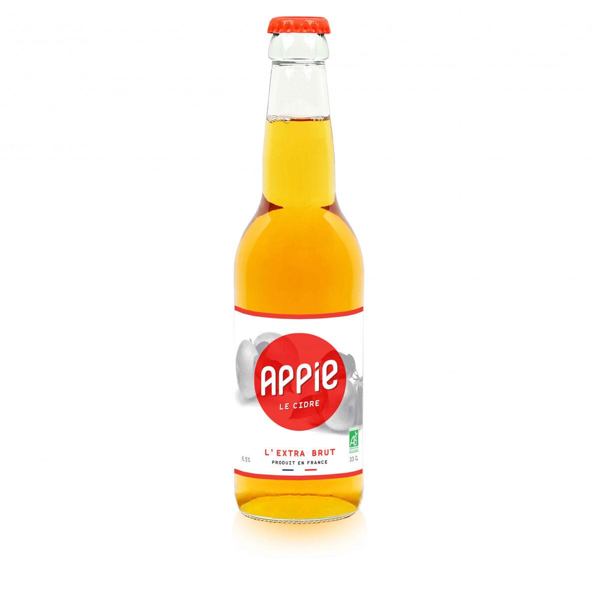 Appie Cidre Extra Brut Bio Appie 12x33cl