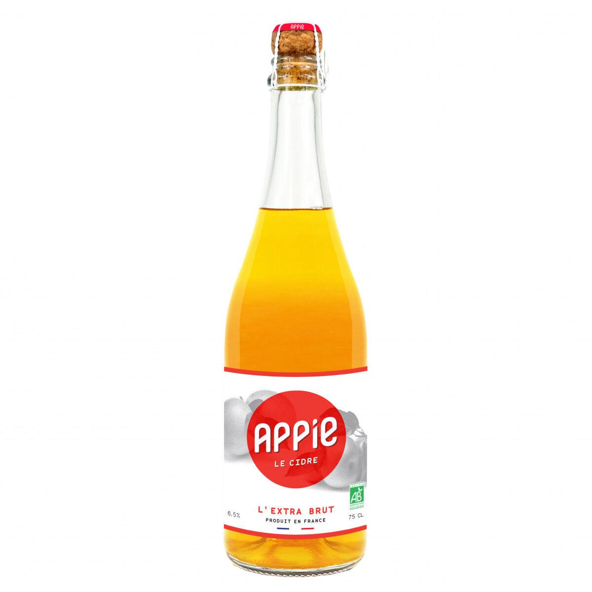 Appie Cidre Extra Brut Bio 6 x 75