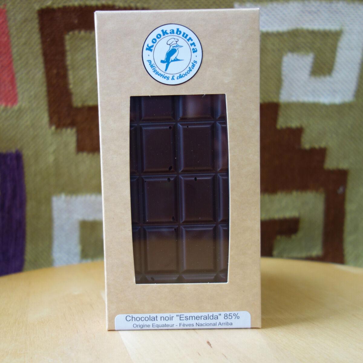 Pâtisserie Kookaburra Tablette Chocolat 85%