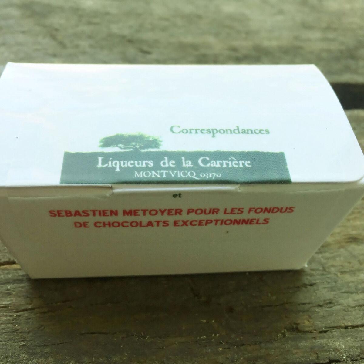Vinaigres de la Carrière Chocolats aux Bourgeons de Sapin - 5 pièces