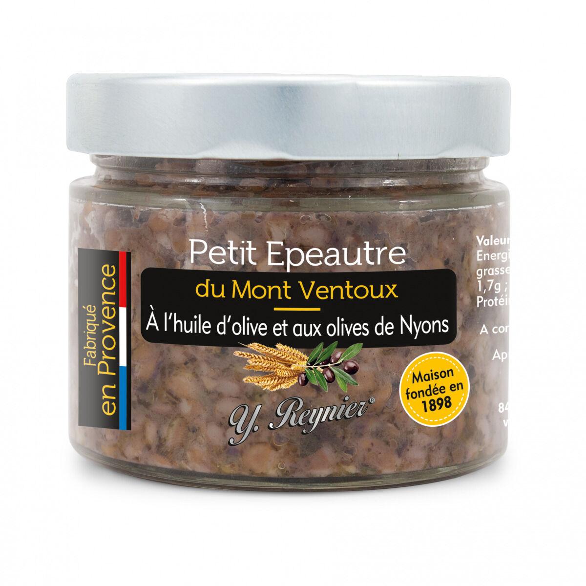 Conserves Guintrand Petit Epeautre du Mont Ventoux à l'Huile d'Olive et aux Olives de Nyons Yr 314 ml
