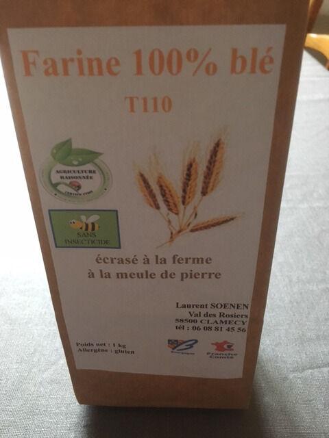 FARINE DE LA TUILERIE Farine de Blé T110 - 1kg