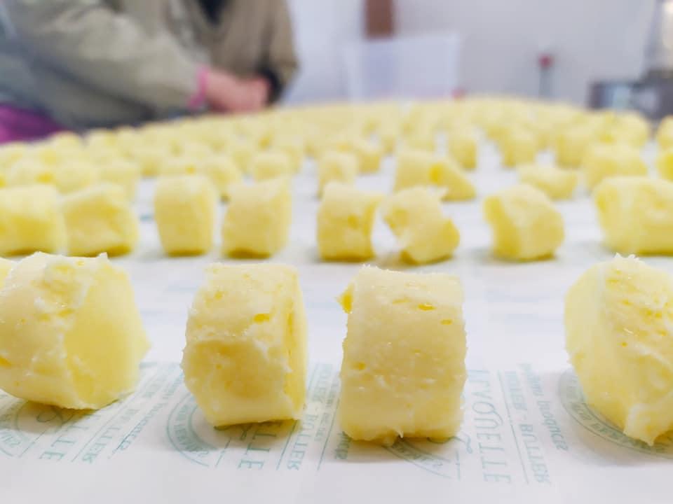 Beurre Plaquette Le Sachet De Bonbons De  Beurre  Doux 10x10 G