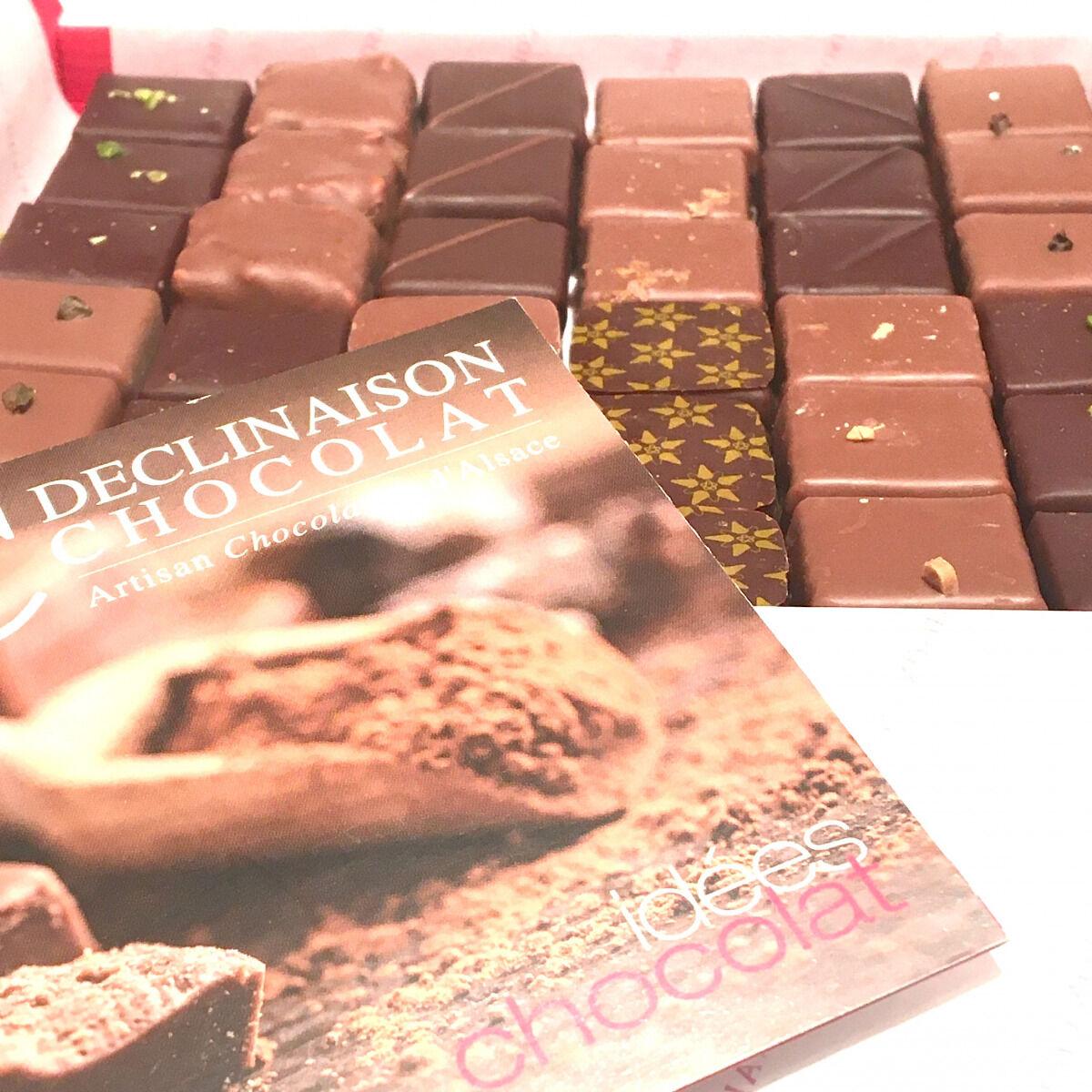 Déclinaison Chocolat Coffret 36 Chocolats