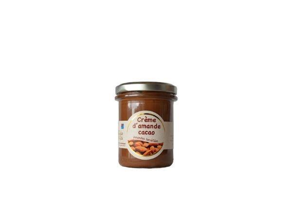 Les amandes et olives du Mont Bouquet Crème D'amande Cacao 200g (pâte À Tartiner)