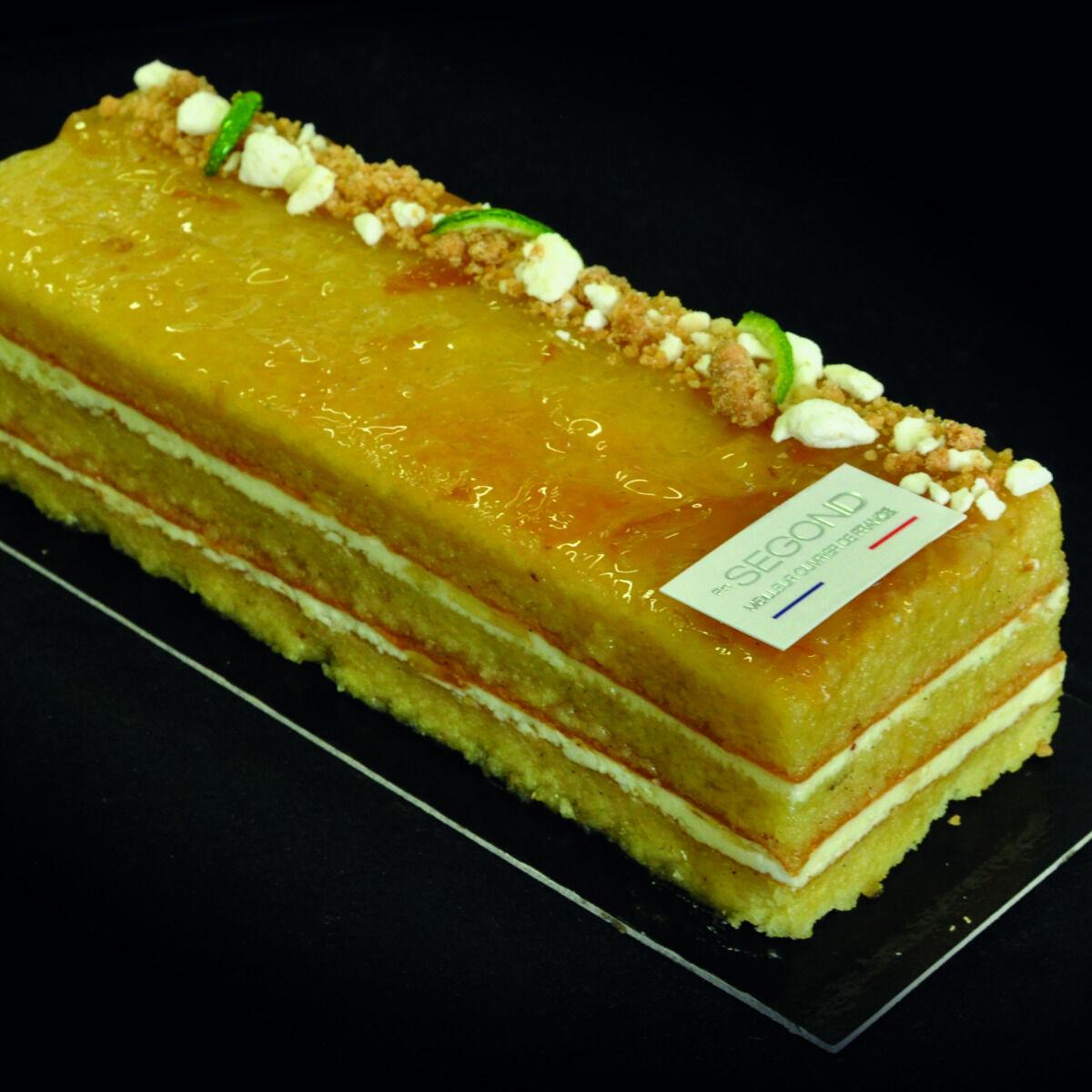 Philippe Segond MOF Pâtissier-Confiseur Gâteau Au Yuzu Et Huile D'olive Des Baux De Provence (sans Gluten)