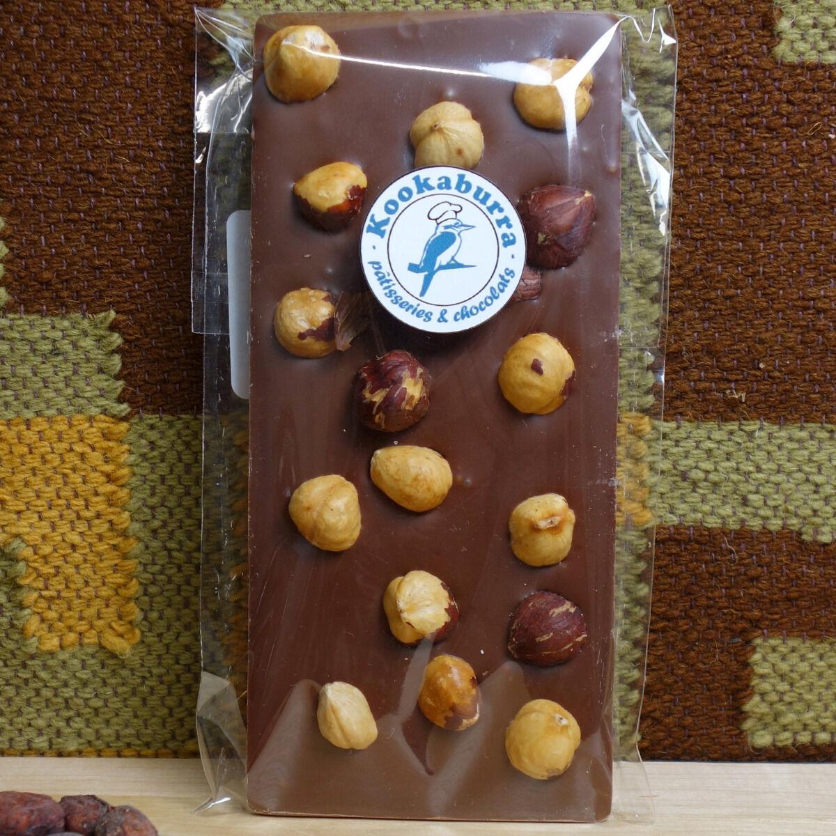 Pâtisserie Kookaburra Tablette Chocolat Au Lait 42% & Noisettes