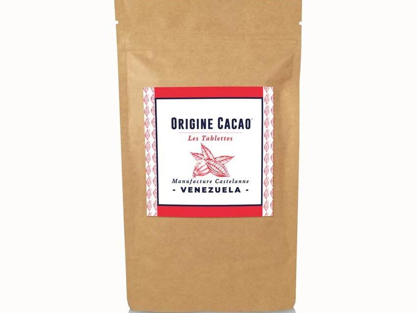 Maison Castelanne Chocolat Tablette Venezuela - Ceyuga - 74% - Fèves Origine Bio