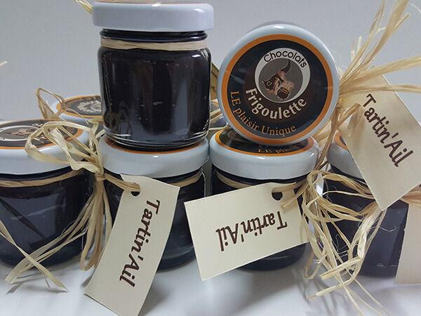 Maison Boutarin Tartin'ail : une pâte à toaster au chocolat et à l'ail noir