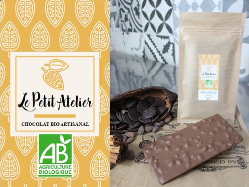 Le Petit Atelier Tablette Chocolat Au Lait Et Riz Soufflé