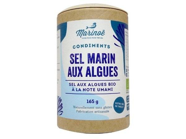 Marinoë Sel marin aux algues
