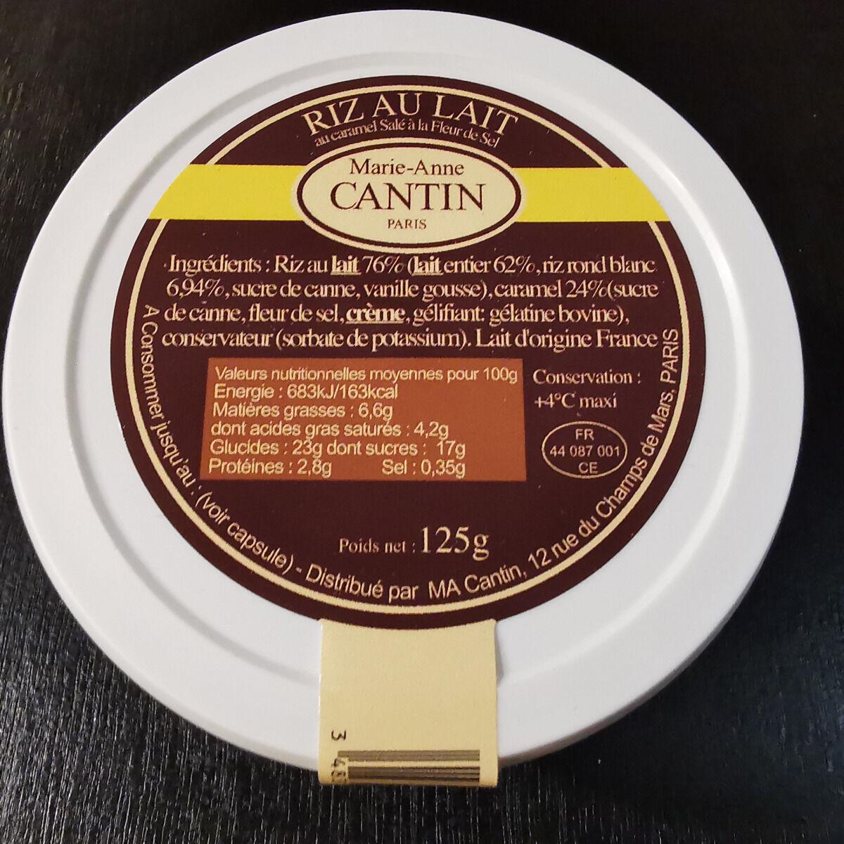 La Fromagerie Marie-Anne Cantin Riz Au Lait Au Caramel