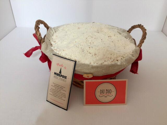 Du bio dans l'assiette Farine De Blé T110 Bio 1kg