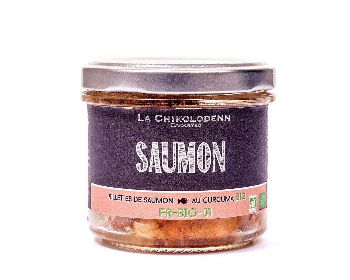 La Chikolodenn Rillettes De Saumon Bio Au Curcuma Bio