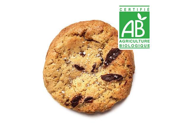 Pierre & Tim Cookies Cookie Bio Chocolat Noir Fleur De Sel