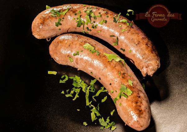 La Ferme Des Gourmets Saucisse Fraîche De Génisse Limousine