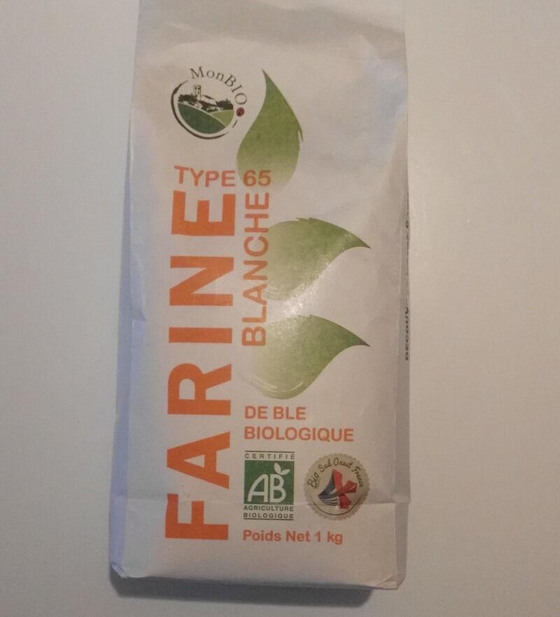 Cocotte et Potiron Farine De Blé Bio T65 (1 Kg) Origine Gers