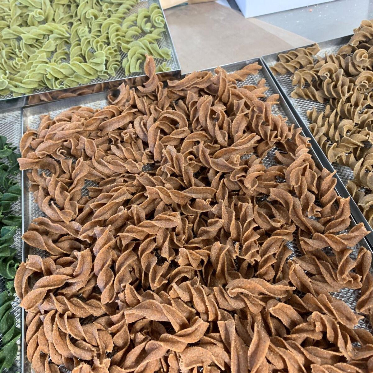 Païs'an Ville® Pâtes Artisanales Bio Mix Tire-bouchon A La Farine De Légumineuses 500g
