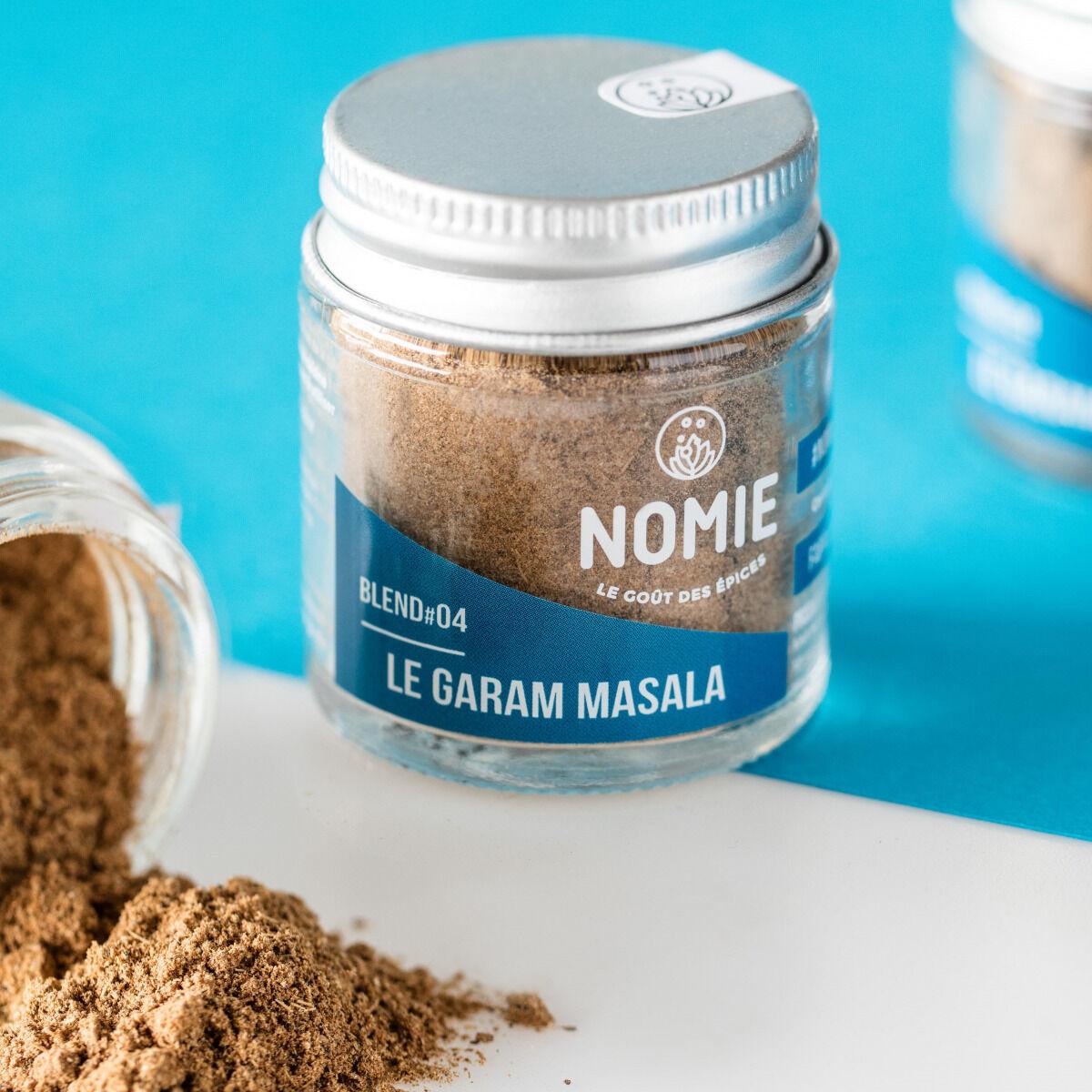 Nomie, le goût des épices Garam Masala