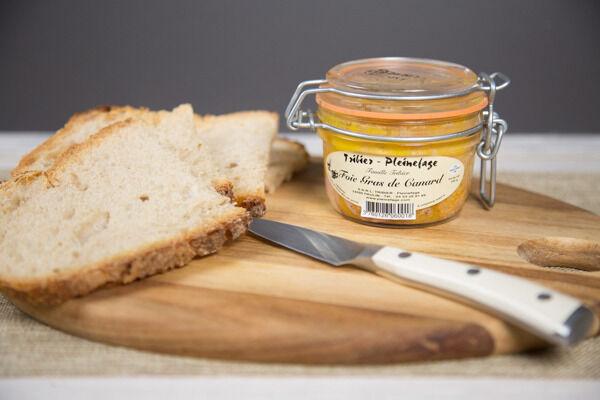 Ferme de Pleinefage Foie Gras de Canard entier cuit 150 g (2 personnes)